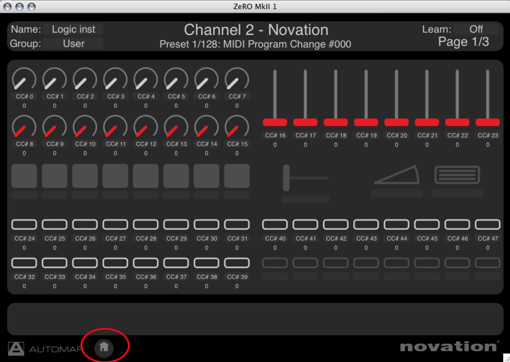automap novation